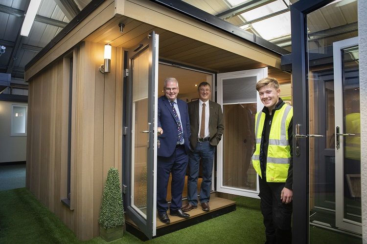 North Wales Firm Using Aviation Technology to Create Outdoor Offices