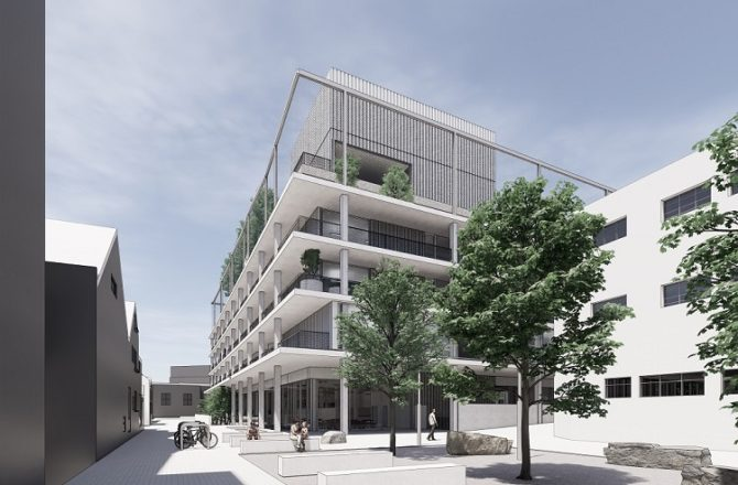 Plans Revealed for Public-Influenced High-Tech Swansea Building