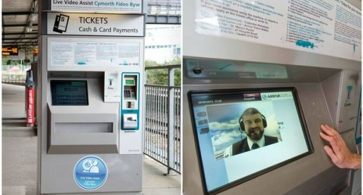 Arriva Trains Wales to Trial Video Ticket Machines