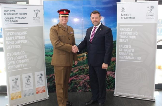 Welsh Council Reaffirms Commitment to Armed Forces Community
