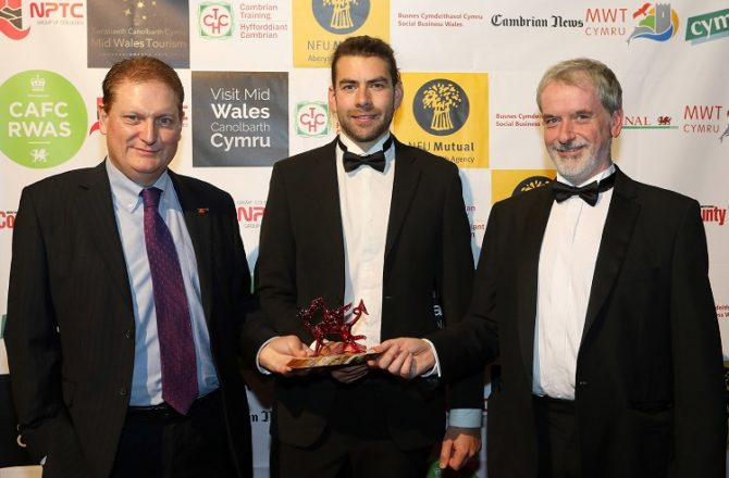 One of World's Leading Eco Centres Wins at Mid Wales Tourism Awards