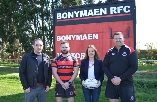 New Board and Financial Support from Barclays for Bonymaen RFC