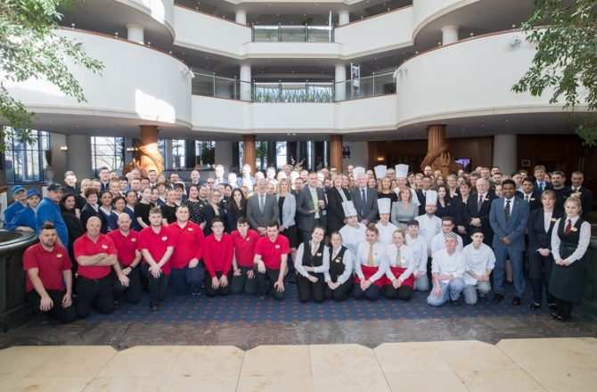 Celtic Manor Scoops Best UK Hotel Award Again