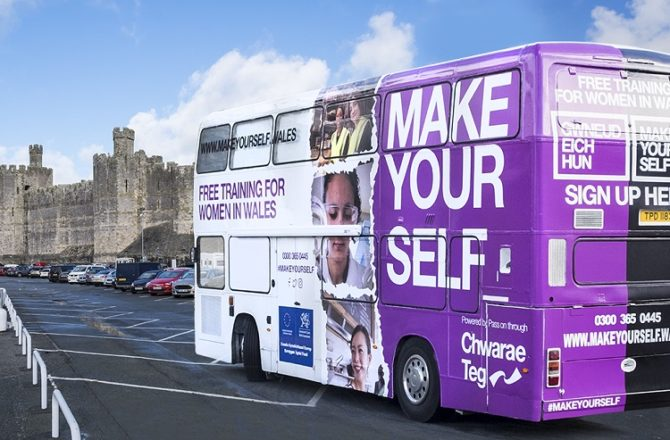 Chwarae Teg's #MAKEYOURSELF Campaign Encourages Women's Career Development