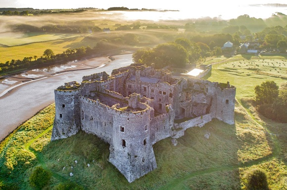 Summer Gets Underway at Carew Castle and Tidal Mill with Spectacular Specialist Tours