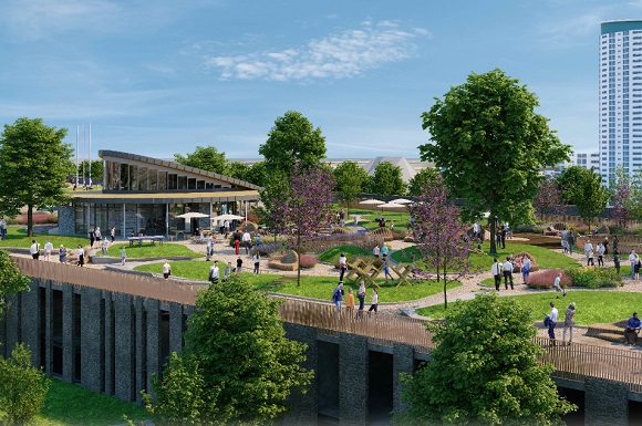 Details Emerge Of Swansea's First New Park Since Victorian Times