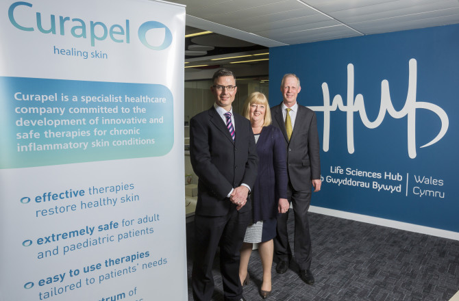 £350,000 Investment for Wales-Based Company to Develop New Treatments for Skin Conditions