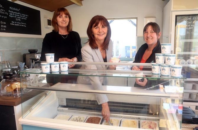 North Wales Food and Drink Producers Showcase Success to Welsh Government