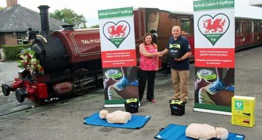 Talyllyn Railway Aims to Save Lives with Defibrillators