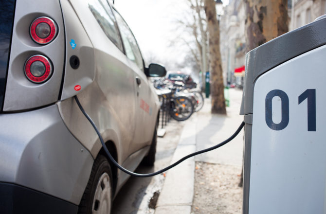 Monmouthshire's Businesses Offered Free Electric Car Charger Trial