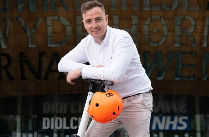 e-Scooters Are Go for Welsh Company