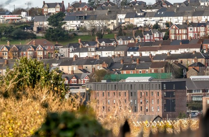 First Tenants Move into New Housing in Barry's Historic 'Goodsheds' District
