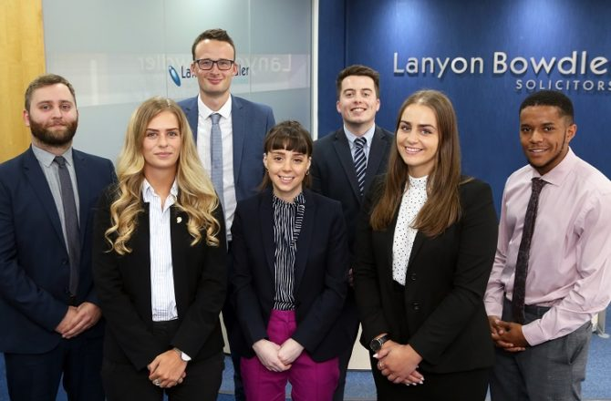 North Wales Legal Firm Takes on Seven New Trainees