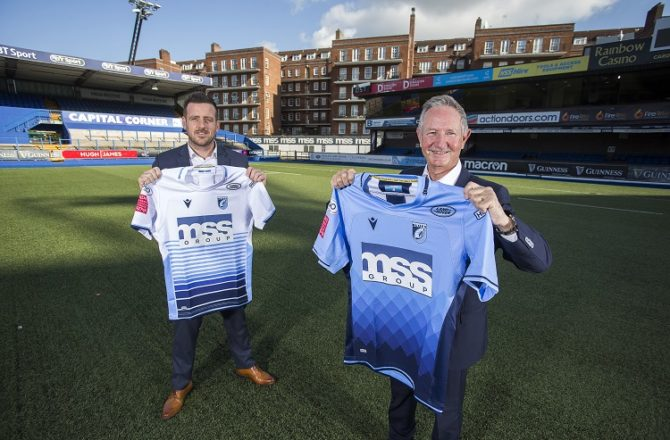 Cardiff Blues Announce Major Sponsorship with MSS Group