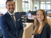 Work Experience Pays Off for Two Budding Chartered Accountants as they Secure Permanent Positions at Local Firm
