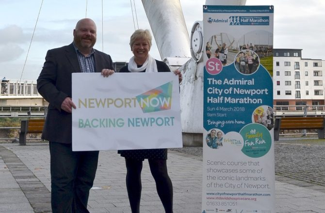 Newport Now BID to Sponsor City of Newport Half Marathon