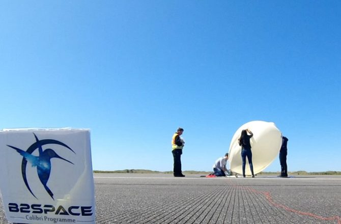 Near Space Test Flight at Spaceport Snowdonia