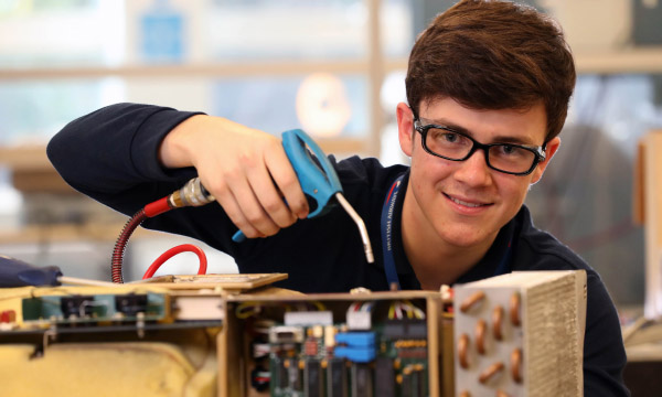 Connor's Career Takes Off with BAAE Apprenticeship
