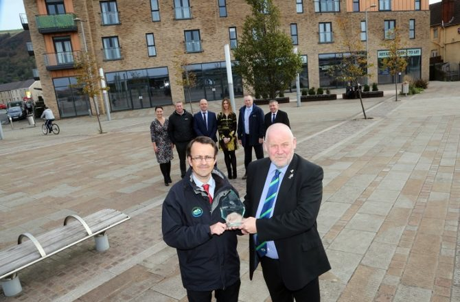 Welsh Council Wins National Excellence Award for Regeneration