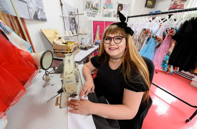 Young Entrepreneur Tailor-Made for Sewing Business Success