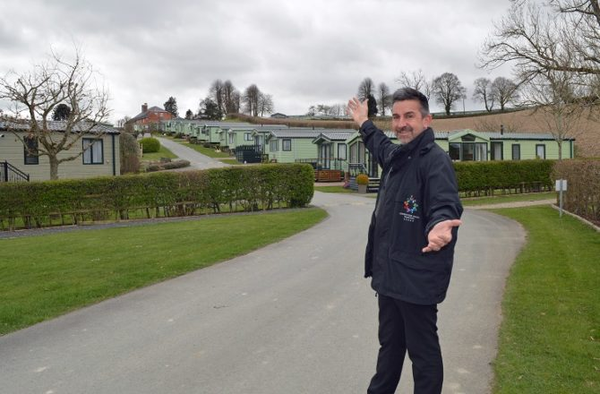 Mid Wales Caravan Parks all set to Welcome Back English Customers