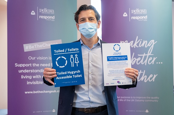 New Signage Unveiled in Support of People Living with Hidden Illnesses