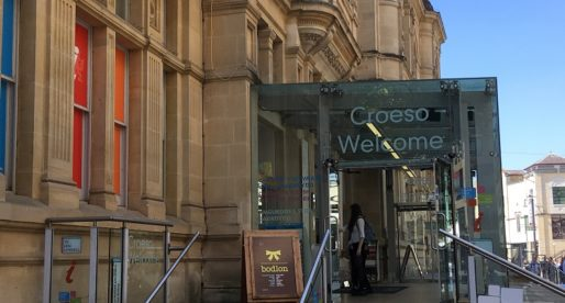 Cardiff's City Centre Tourist Information Centre Re-opens