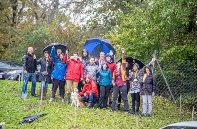Enterprise Community in Caerphilly Looks to Support its Greenspaces