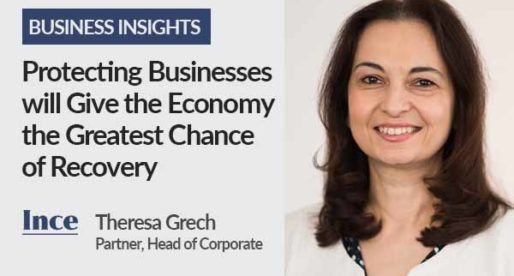 Protecting Businesses will Give the Economy the Greatest Chance of Recovery