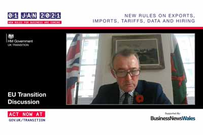 Wales Secretary of State Discusses EU Transition in Live Talk