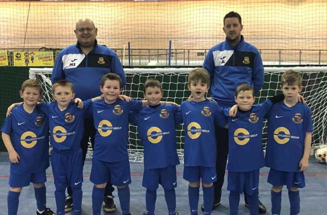Caldicot Group Scores by Supporting Newport Football Team