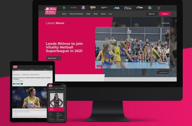 Cardiff Based Sotic Agrees Partnership with England Netball