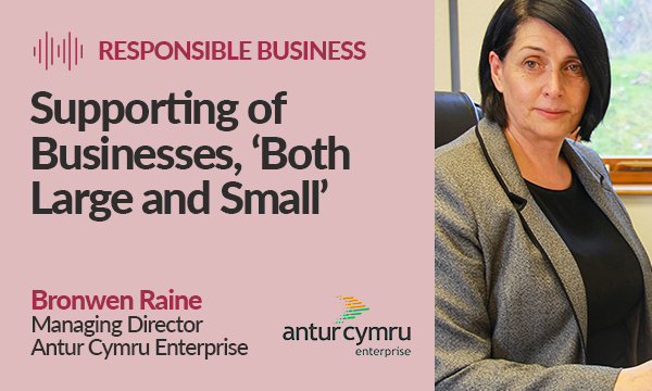 The Support of Businesses, 'Both Large and Small'