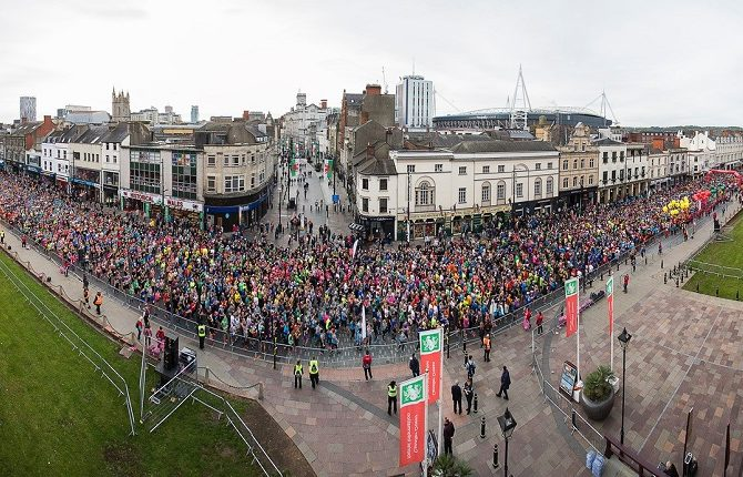 Run, Refuel, Recycle at the 2019 Cardiff Half