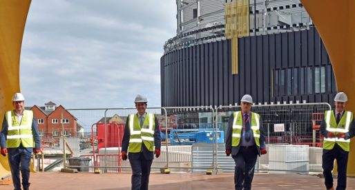 Government Ministers 'Deeply Impressed' by Copr Bay Progress