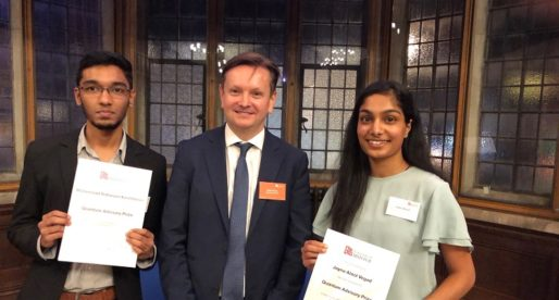 Quantum Advisory Prize Presented at Bristol University