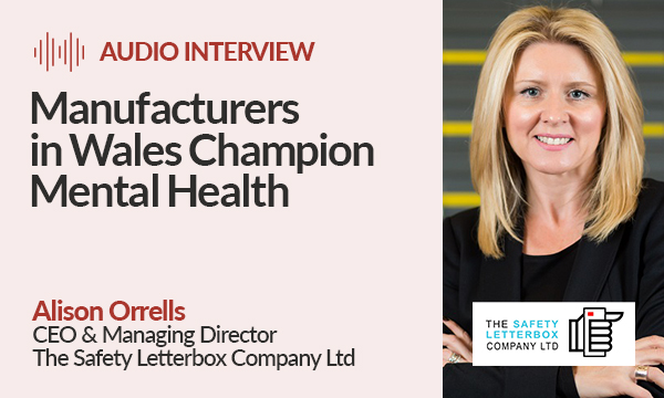 Manufacturers in Wales Champion Mental Health