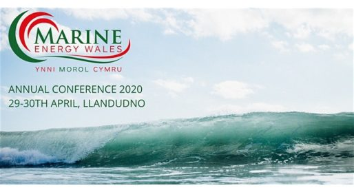 <strong> 29th & 30th April – Llandudno </strong><br> Marine Energy Wales Conference 2020