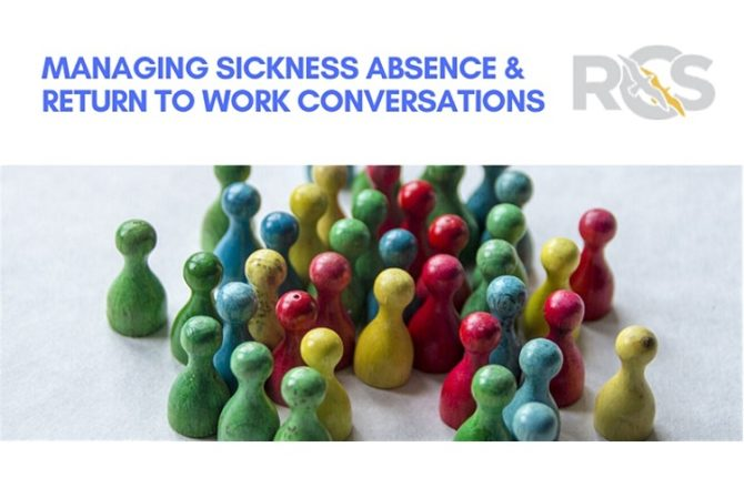 <strong> 23rd April – Webinar </strong><br>Managing Sickness Absence & Return to Work Conversations